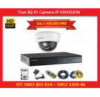 Trọn Bộ 01 Camera HIKVISION DS-2CD2110F-IWS