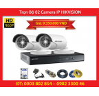 Trọn Bộ 02 Camera HIKVISION DS-2CD2010F-I