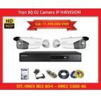 Trọn Bộ 02 Camera HIKVISION DS-2CD2T12-I8