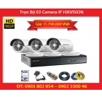 Trọn Bộ 03 Camera HIKVISION DS-2CD2010F-I