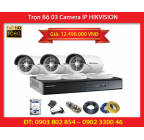 Trọn Bộ 03 Camera HIKVISION DS-2CD2020F-I