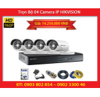 Trọn Bộ 04 Camera HIKVISION DS-2CD2010F-I