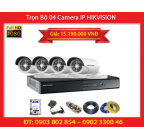 Trọn Bộ 04 Camera HIKVISION DS-2CD2020F-I