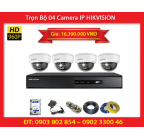 Trọn Bộ 04 Camera HIKVISION DS-2CD2110F-IWS