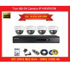 Trọn Bộ 04 Camera HIKVISION DS-2CD2120F-IWS