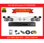 Trọn Bộ 04 Camera HIKVISION DS-2CD2T12-I8