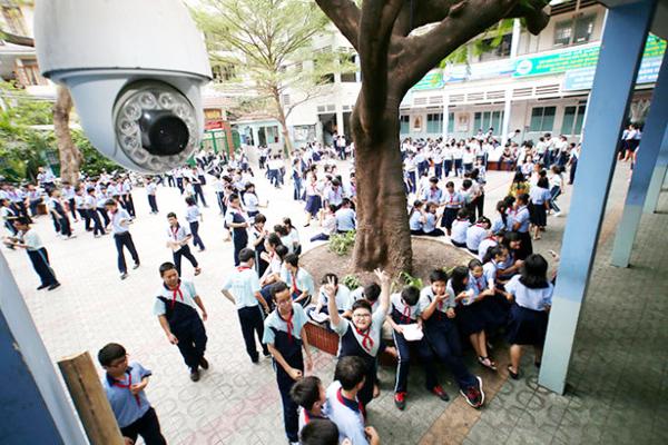 Lắp đặt camera trường học tại quận 4