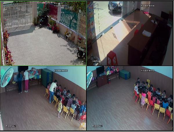Lắp đặt camera cho trường mầm non quận Bình Thạnh