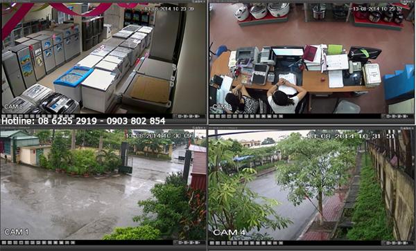 Lắp đặt camera văn phòng tại huyện Bình Chánh