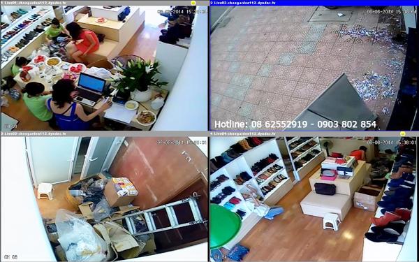 Lắp đặt camera cửa hàng và Shop tại huyện Củ Chi