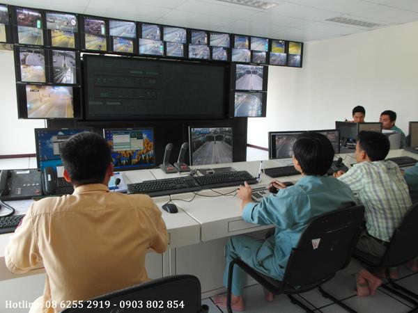 Hệ thống camera quan sát tại hầm Thủ Thiên quận 2