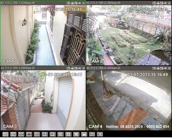 Lắp đặc camera gia đình tại quận Gò Vấp