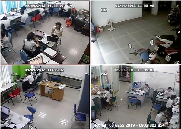 Lắp đặt camera cửa hàng và Shop tại huyện Bình Chánh