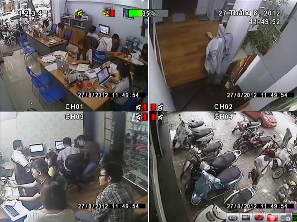 Lắp đặt camera văn phòng quận Bình Thạnh