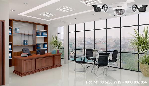 Lắp đặt camera văn phòng tại quận Tân Phú