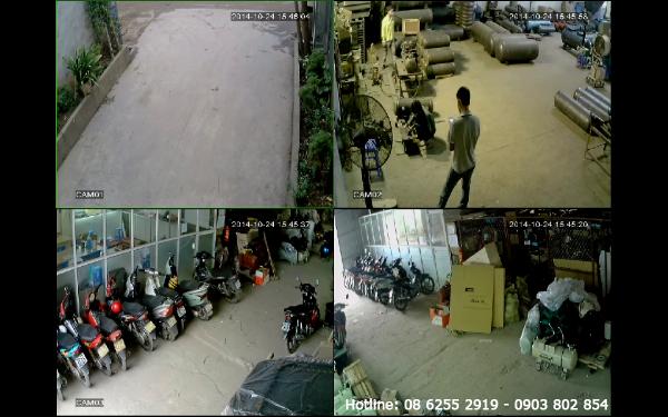 Lắp đặt camera nhà xưởng tại Vũng Tàu